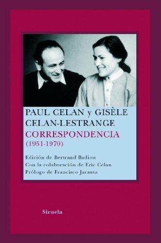 9788478448722: Correspondencia Paul Celan (1951-1970) (Spanish Edition)