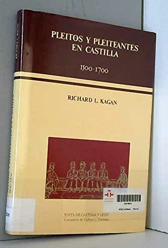9788478460717: Pleitos y pleiteantes en Castilla, 1500-1700 (Estudios de historia) (Spanish Edition)