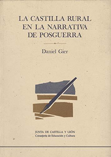 La Castilla rural en la narrativa de: Gier, Daniel