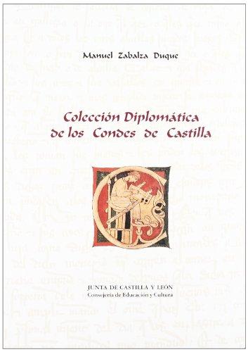 9788478467778: Colección diplomática de los Condes de Castilla (Documentos para la historia de Castilla y León)