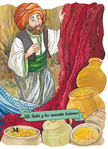 9788478647323: Alí Babá y los 40 ladrones (Troquelados clásicos)