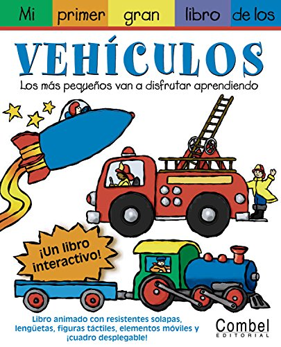 9788478648214: Mi primer gran libro de pegatinas con vehículos