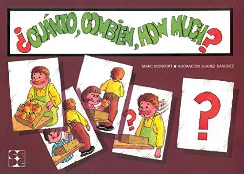 Cuánto, combien, how much? (Paperback): Adoracion Juarez Sanchez,