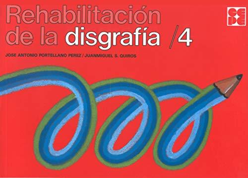 REHABILITACION DISGRAFIA,4: PORTELLANO PÉREZ, JOSÉ