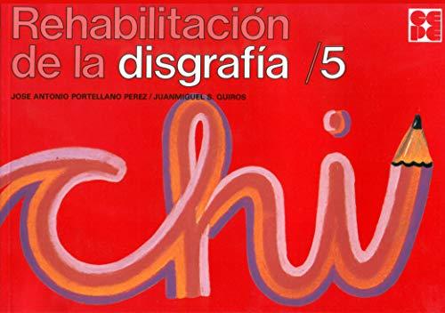 REHABILITACION DISGRAFIA,5: PORTELLANO PÉREZ, JOSÉ