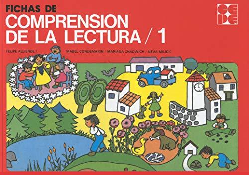 FICHAS DE COMPRENSION DE LA LECTURA. 1: CONDEMARIN, MABEL