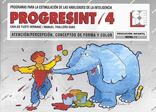 9788478691807: PROGRESINT 04 ATENCIÓN PERCEPCION, CONCEPTOS DE FORMA DE COLOR