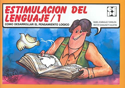 Estimulación del lenguaje, 1 (Paperback): Isabel Domínguez Torrejón,