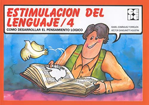 Estimulación del lenguaje, 4 (Paperback): Isabel Domínguez Torrejón,