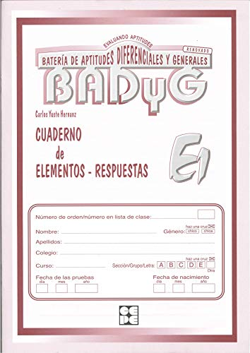 BADYG E1: Carlos Yuste Hernanz