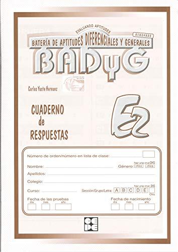 9788478693092: Badyg E2. Cuaderno de respuestas (Instrumentos Evaluacion)