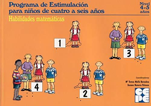 9788478693795: Habilidades matemáticas (4-5 años). PEN