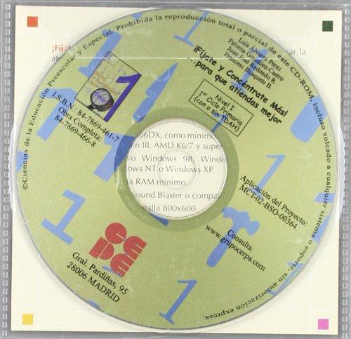 9788478694617: ¡Fíjate y Concéntrate Más! CD - 1