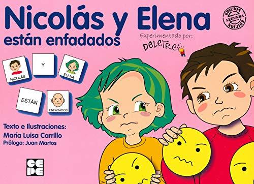 9788478695751: Pictogramas: Nicolás y Elena están enfadados: 25 (Pictogramas: lecturas fáciles para niños con dificultades)