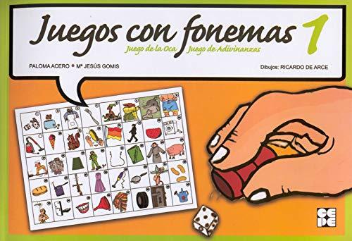 Juegos con fonemas 1 : juego de la oca