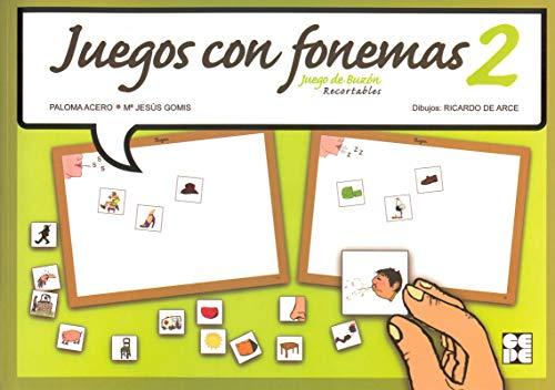 9788478696208: Juegos con fonemas 2 : juego de buzA³n
