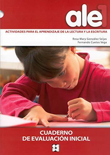 Ale1.actividades para el aprendizaje lectura y escritura: González Seijas, Rosa/Cuetos