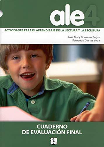 ALE 4, actividades, aprendizaje, lectura y escritura.: Fernando Cuetos Vega,