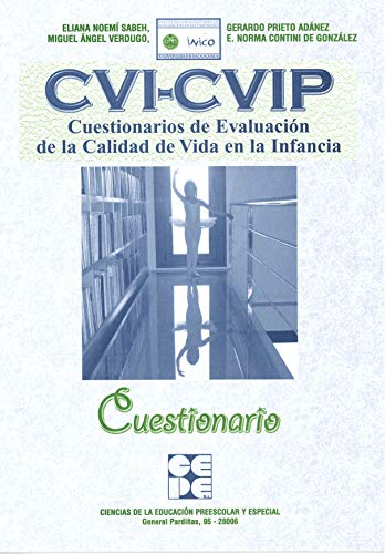 9788478696963: CVI-CVIP. Cuestionarios evaluación calidad de vida infancia. CUESTIONARIO (R)(2009)