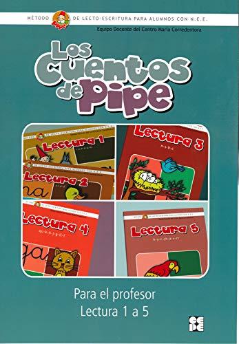 9788478697250: Los cuentos de PIPE-Lectura 1/5-Profesor-Mét.lecto-escrit.alumnos NEE (R)(2009)