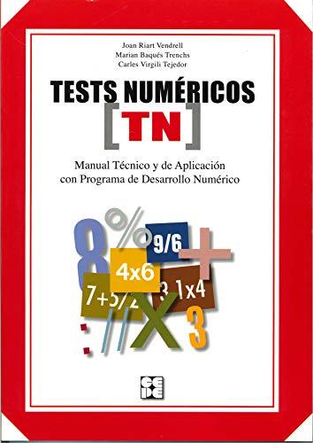 TEST NUMÉRICOS: RIART I VENDRELL,