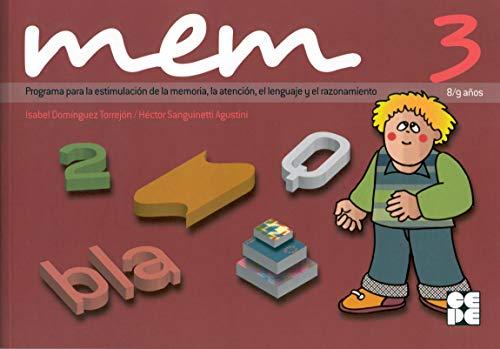 MEM 3 : programa para la estimulación: Isabel Domínguez Torrejón,