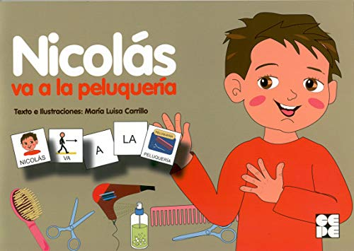 9788478697588: Nicolás va a la peluquería (Pictogramas)