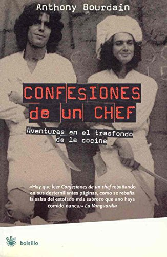Confesiones de un chef/ Kitchen Confidential (Spanish: Anthony Bourdain