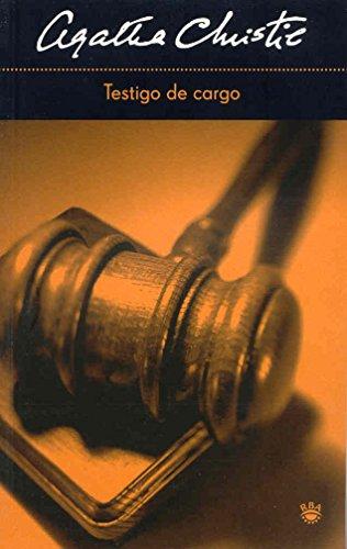 9788478715152: Testigo de cargo (FICCION)