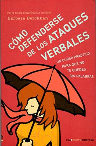 9788478719235: Como defenderse de los ataques verbales (Spanish Edition)