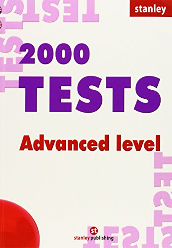 9788478730117: 2000 TESTS NIVEL AVANZADO+KEYS PACK