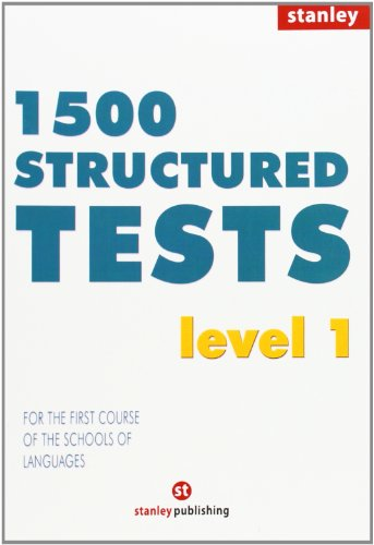9788478732104: 1500 Structured Tests Level 1