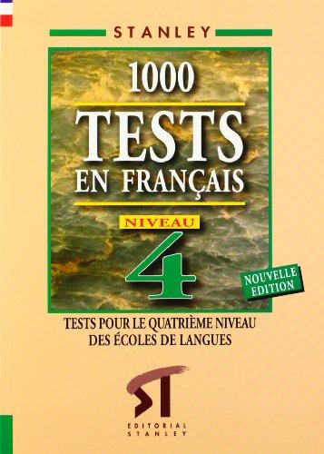 9788478732128: 1000 Tests en français Niveau 4