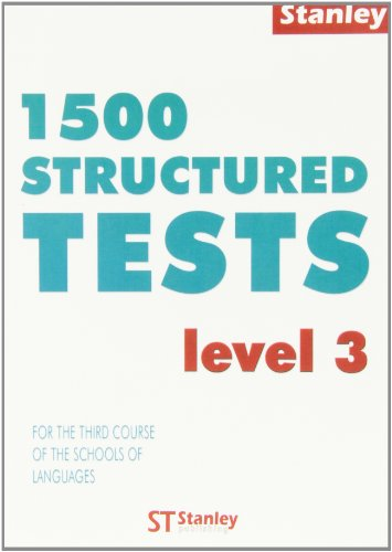 9788478732203: 1500 structured. For the third course of the schools of languages. Level 3
