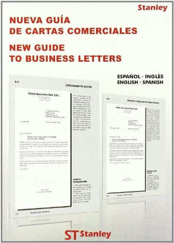 NUEVA GUIA DE CARTAS COMERCIALES Ingles - Español NEW GUIDE TO BUSINESS LETTERS English - ...