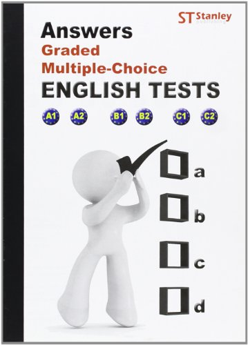 9788478735068: Answers, graded multiple, choice. English test