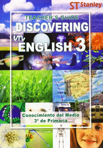 9788478735457: Discovering in English 3. Teacher's guide - 9788478735457