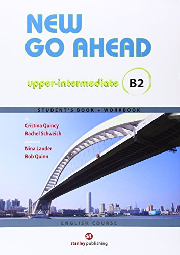 9788478736225: New Go Ahead, upper-intermediate B2. Student's book + Workbook