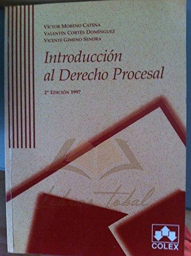 Introducción al Derecho Procesal: Moreno Catena, Víctor,