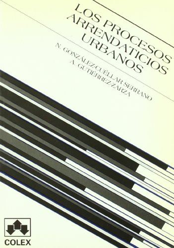 Procesos arrendaticios urbanos, los 1ª ed: Gutierrez Zarza, Mª.Angeles