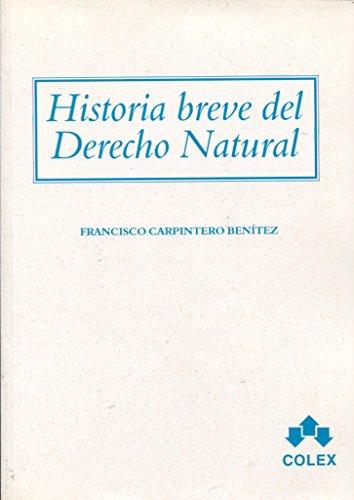 9788478795253: Historia breve del derecho natural
