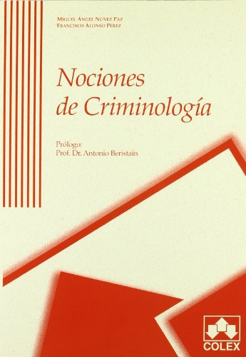 9788478797103: NOCIONES DE CRIMINOLOGIA