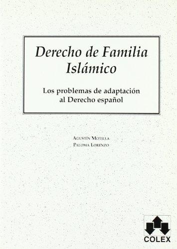 9788478797554: Derecho de familia islamico