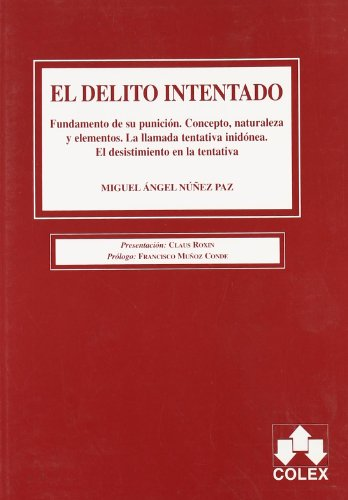 9788478798032: DELITO INTENTADO 1 ED.