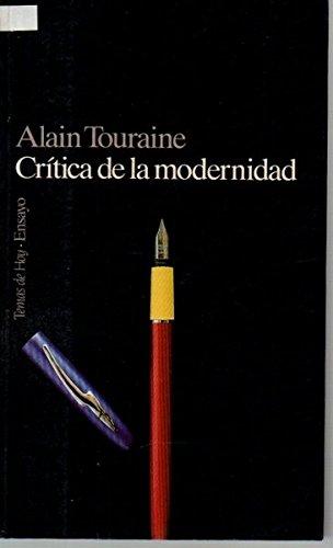9788478803026: Critica de la modernidad