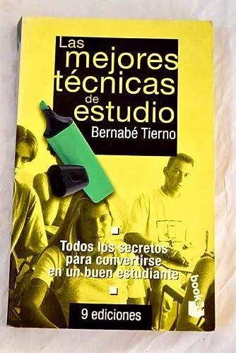 9788478807727: Las Mejores Tecnicas De Estudio (Spanish Edition)