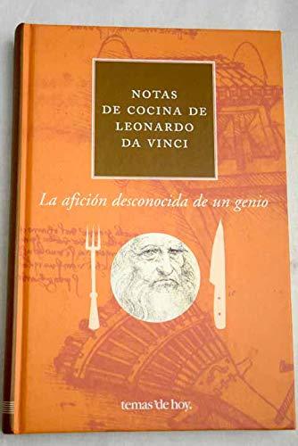 9788478808335: Notas de Cocina de Leonardo Da Vinci (Spanish Edition)