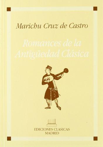 9788478820511: Romancero de la antigüedad clásica