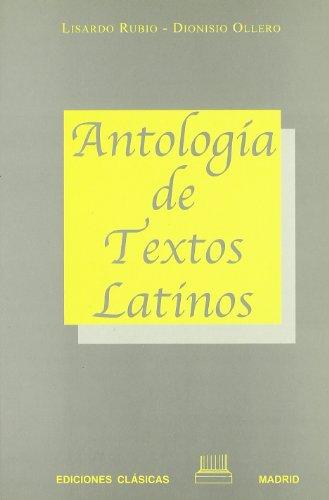9788478821006: Antología de textos latinos