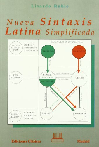 9788478821655: Nueva sintaxis latina simplificada